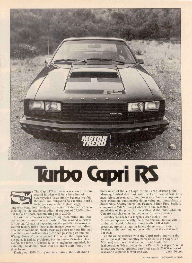Images Ford Capri Turbo